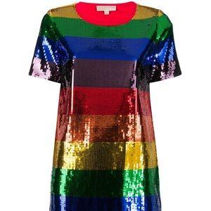 Michael Michael Kors rainbow sequin dress